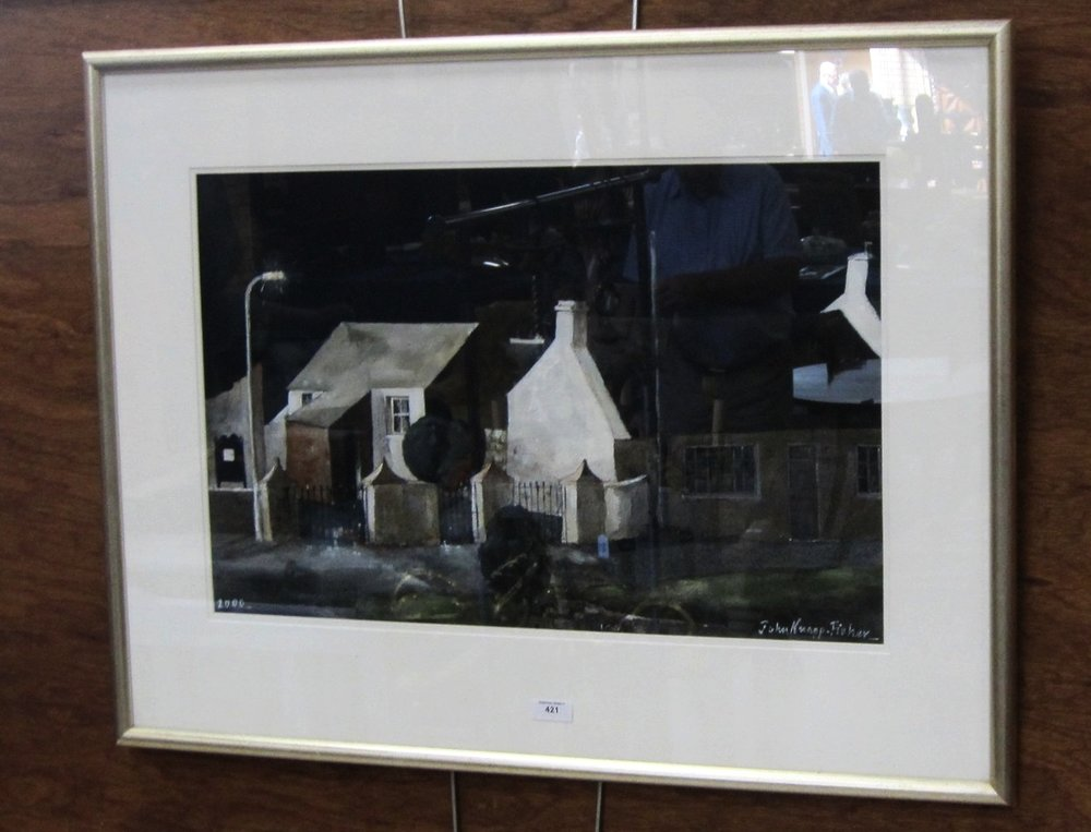 John Knapp-Fisher watercolour £11,000 at auction