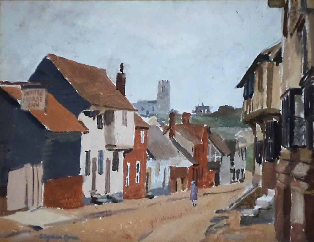 Stephen Bone artist painting for sale