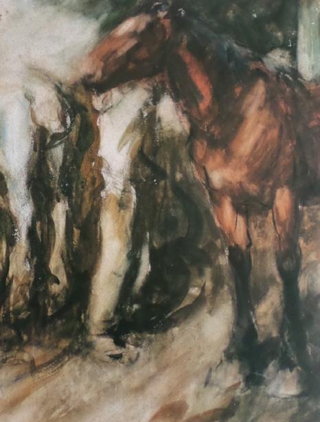 Bus Horses