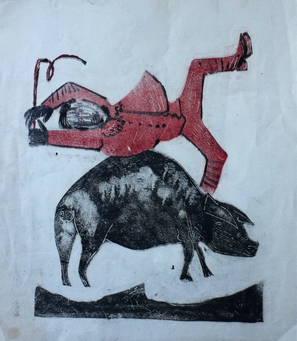 robert colquhoun monoprint for sale