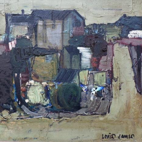 Dordogne Village c.1955