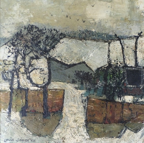 SOLD-Winter Landscape '53
