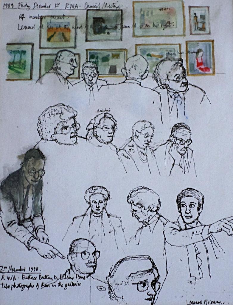 Leonard Rosoman artist for sale
