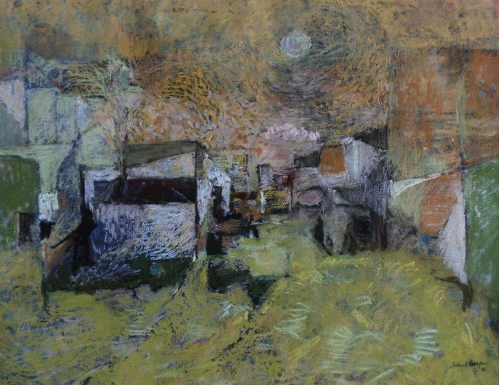 John Elwyn painting