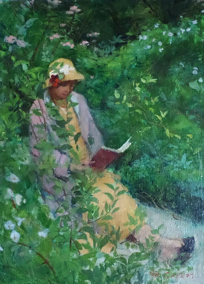 Margaret Green oil painting