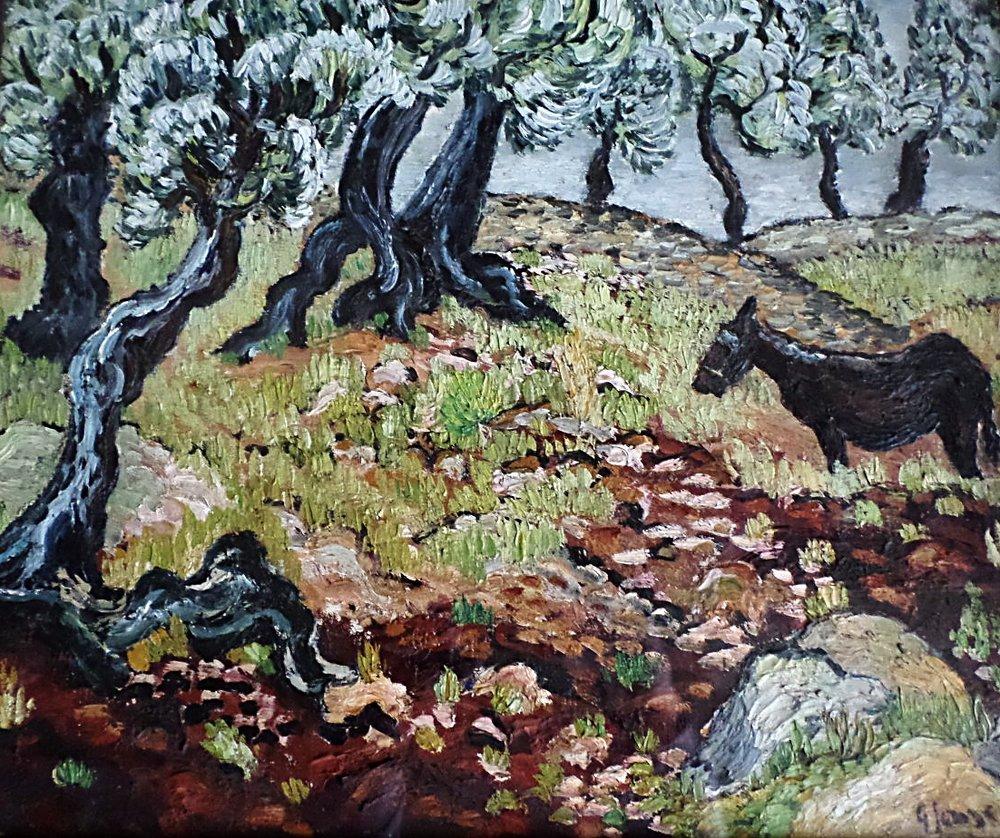 Basil Jonzen painting for sale