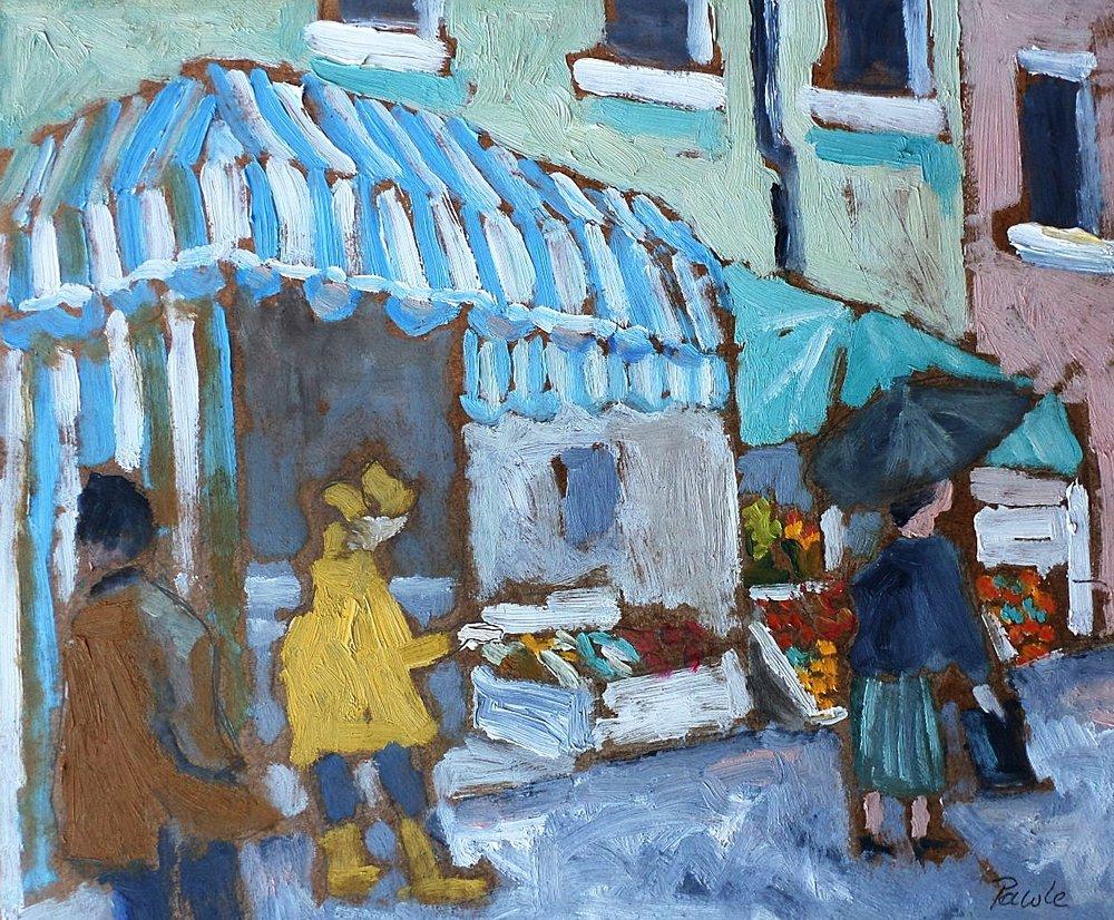John Pawle market painting