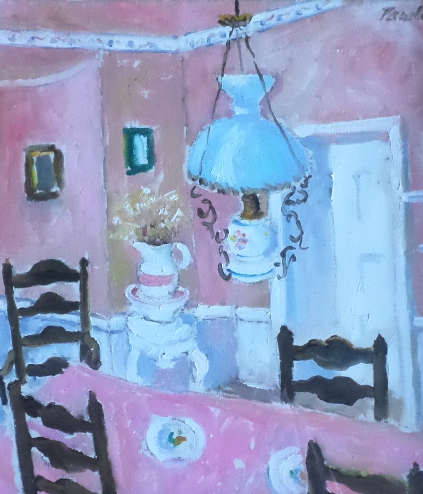 John pawle hadham oil painting