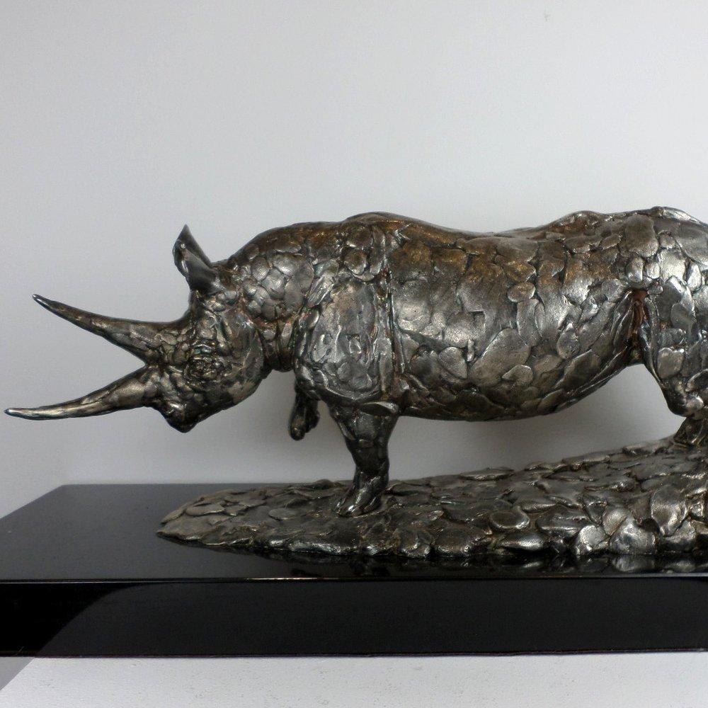 Sterling Silver Rhino 1997