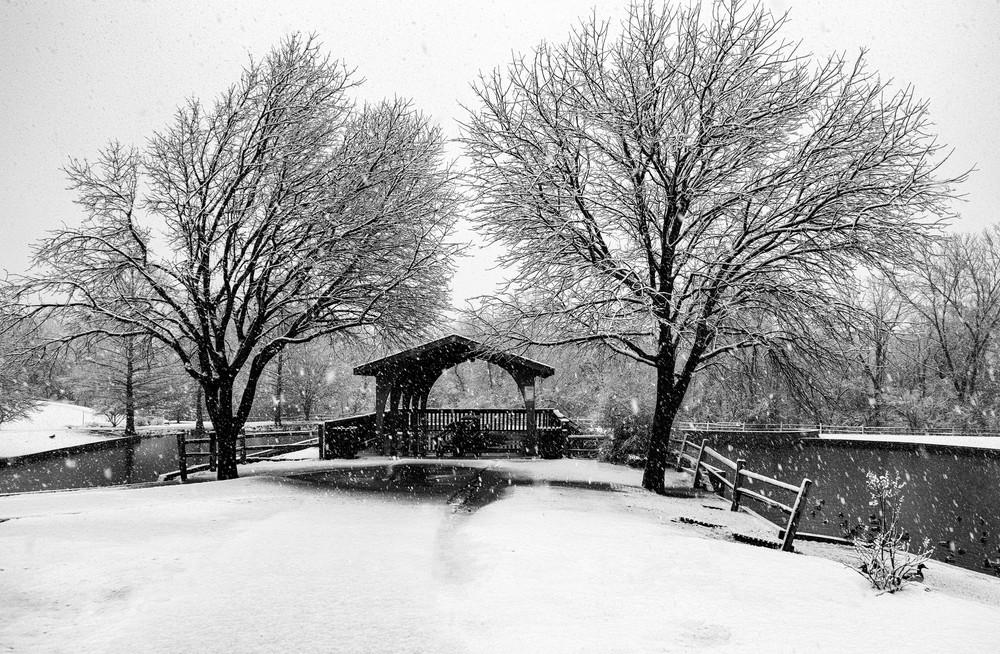 Snow at Hafer Park