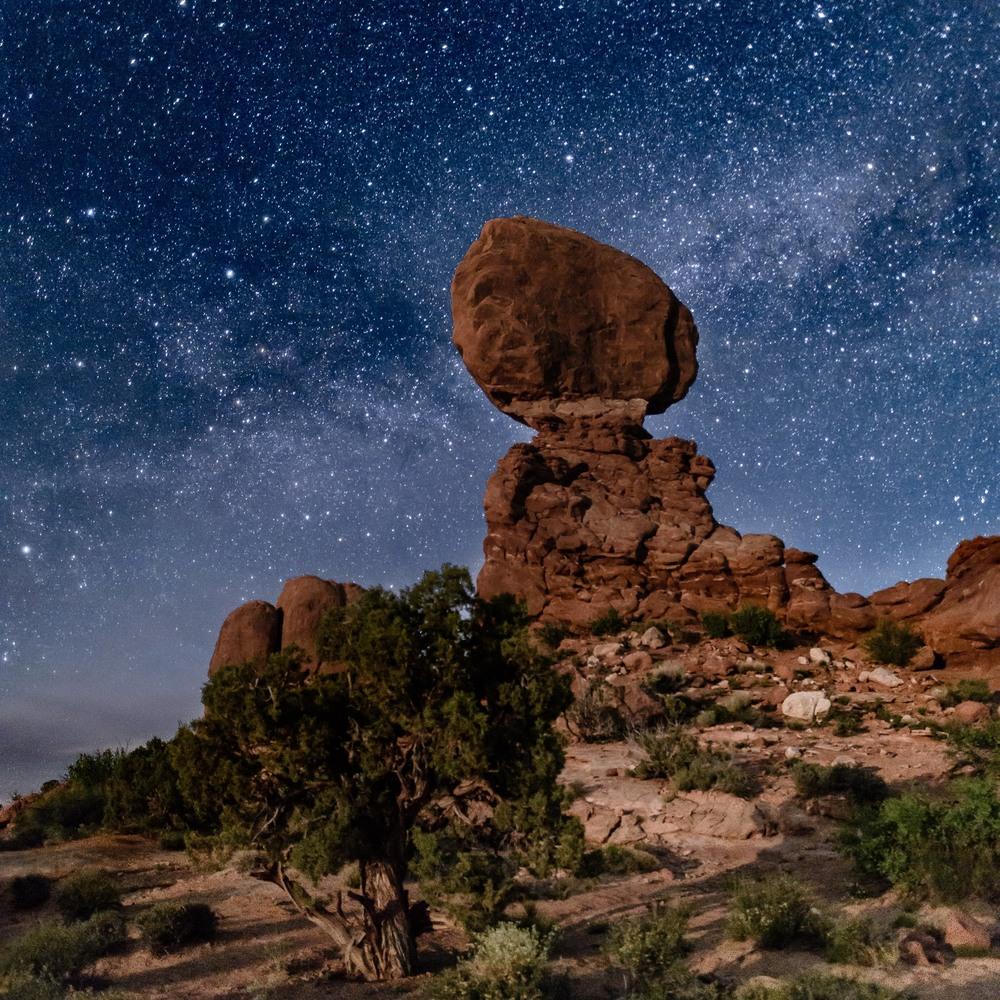 Balanced Rock at Arches National Park
