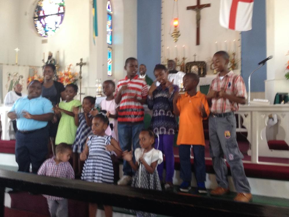 Youth Sunday Performance 7-June 2015