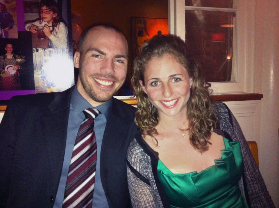 Ed and Alena looking sharp