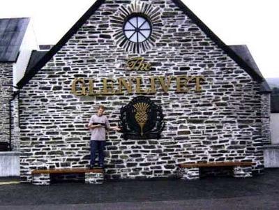 Danny's now ready for the Glenlivet distillery.