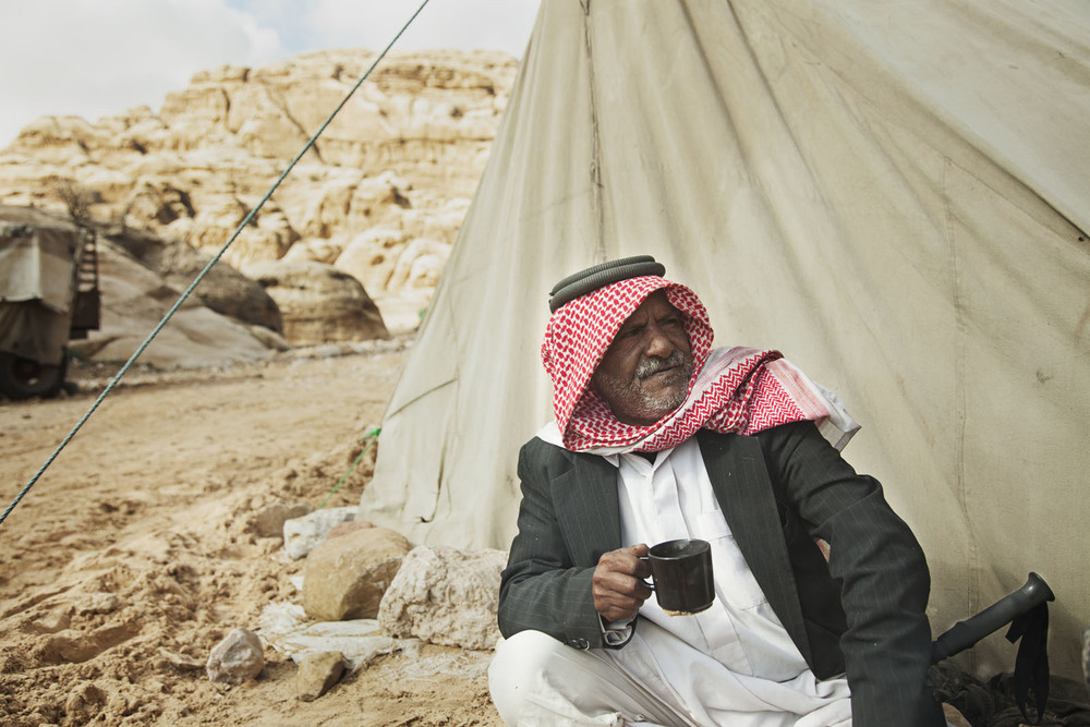 CAMPING WITH BEDOUINS BY CHRISTINE ARMBRUSTER