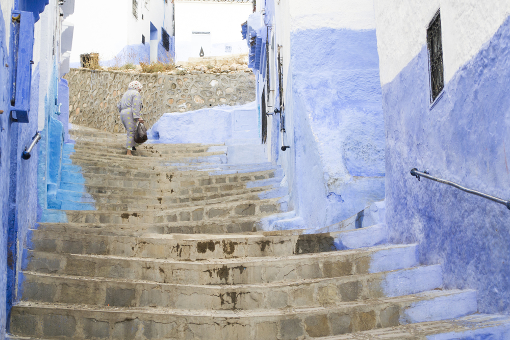 "CHEFCHAOUEN ""THE BLUE CITY"" BY RAQUEL GRIGELMO"