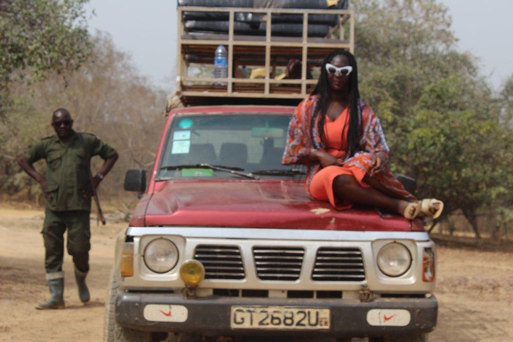 karen on truck.jpg