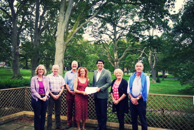 Campaigners meet with Conservative MP for North East Hampshire, Ranil Jayawardena.