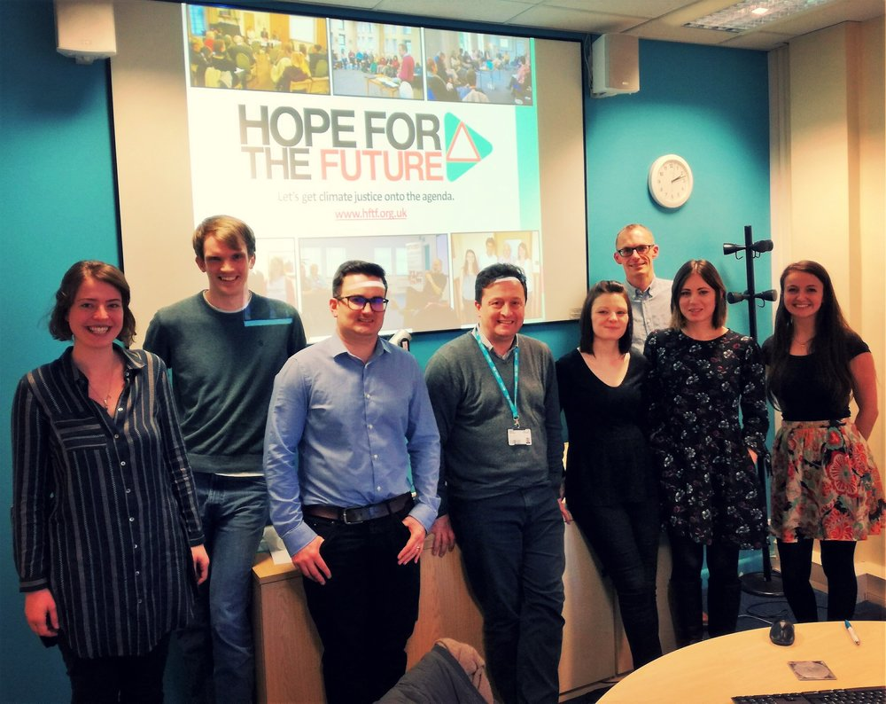 Hope for the Future with academics from CRESR at Sheffield Hallam.