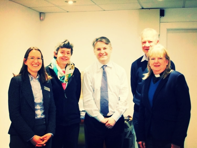 Constituents meeting with Philip Davies MP