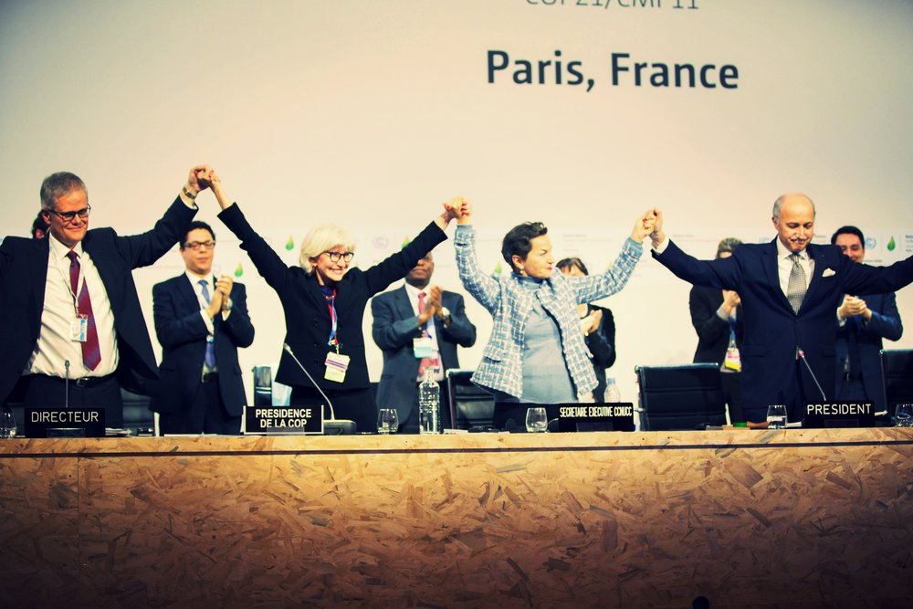 The Paris agreement in 2015 was a historic success.