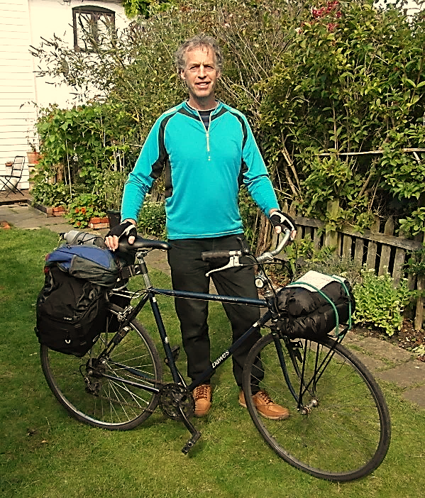John Musker is cycling from Canterbury to Rome to raise money for Hope for the Future.  Find out more.
