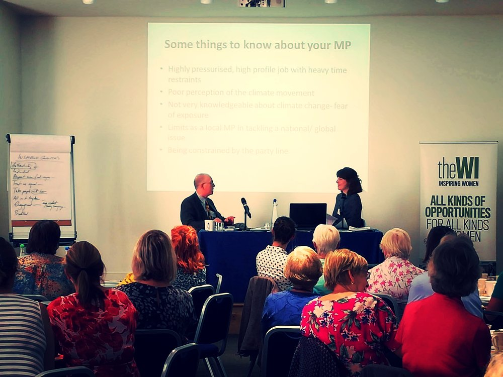 Our events take place accross the UK with politicians and leading climate experts.