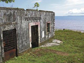Prison on Isla del Diablo -- Coiba Panama