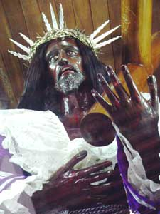 The Black Christ of Portabelo Panama