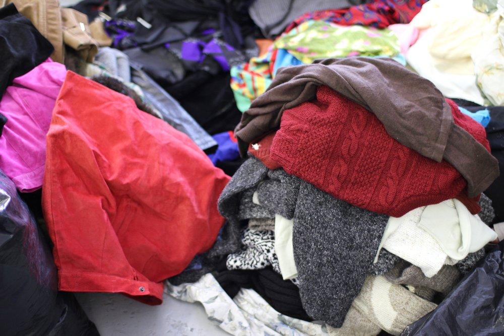 So. Many. Clothes.
