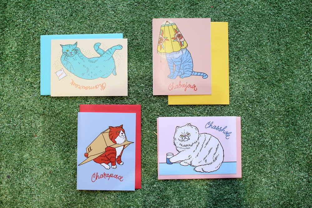 Greeting cards: $5
