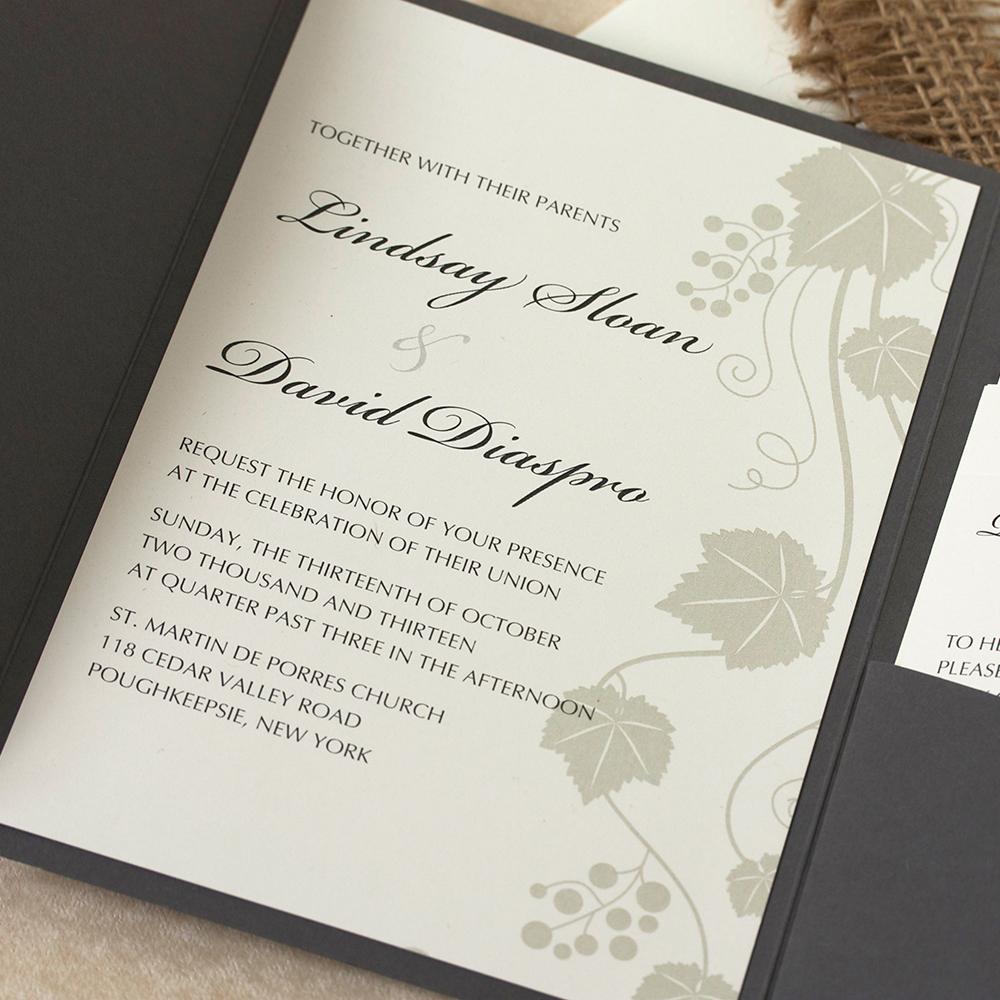 Custom Invitations Stationery Handmade Willow Glen