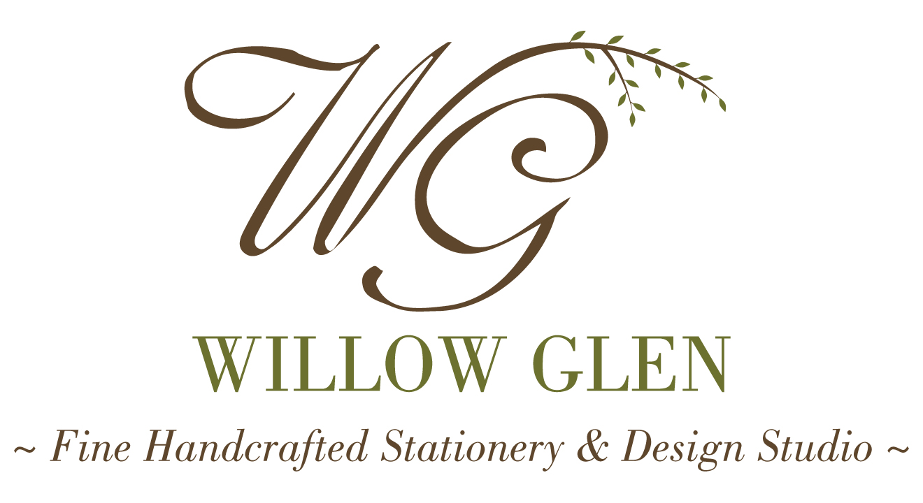 Willow Glen, Bespoke Invitations, Stationery & Design Studio