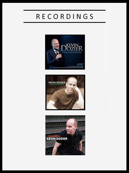 Kevin Dozier Recordings