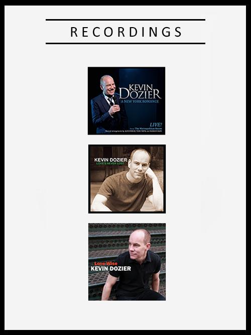 Kevin Dozier Recordings