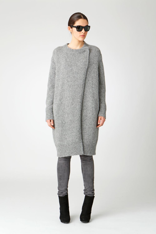 chunky coat