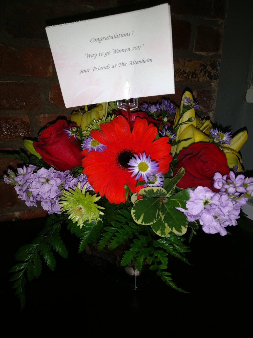 Overwhelmed With Joy Thank You For The Congratulations Bouquet For
