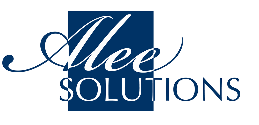 The path of Alee Solutions has grown over the past two years. We felt it fitting to have a logo that showed where we have been and where we planned to go in the future. -