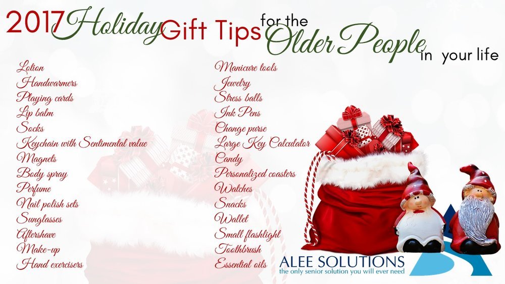 Last Minute Gift Ideas for the Senior in your life — Alee Solutions