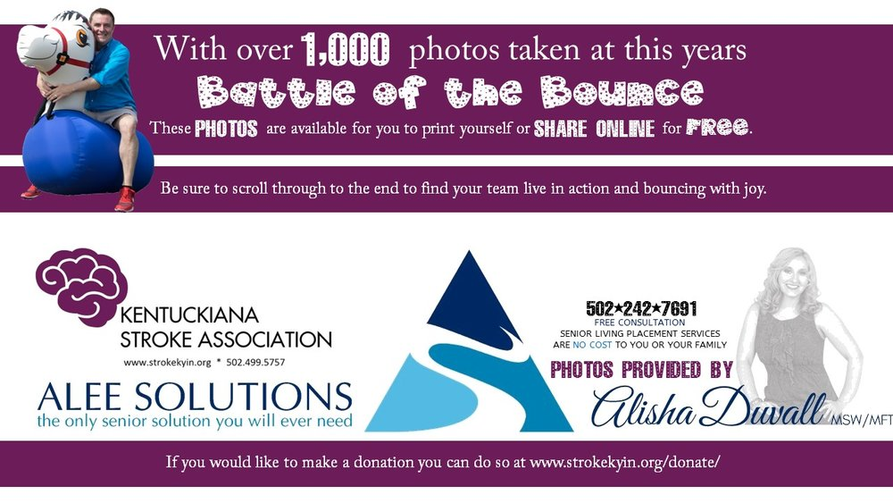 Thank you to each and every team who signed up supporting the Kentuckiana Stroke Association!