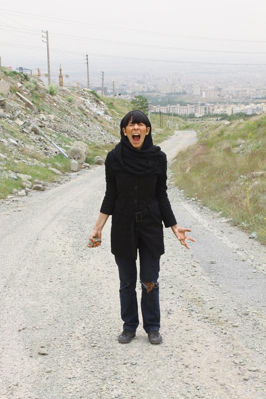 Samaneh Roghani - Tehran after Daiane Arbus