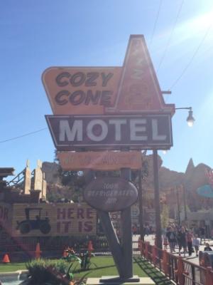 Cozy Cone Motel Quick Service Restaurant