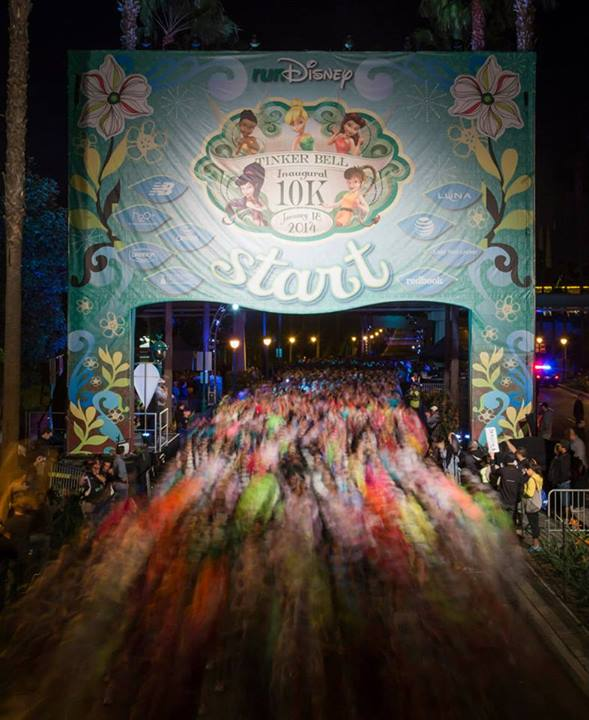Official RunDisney picture of the start.