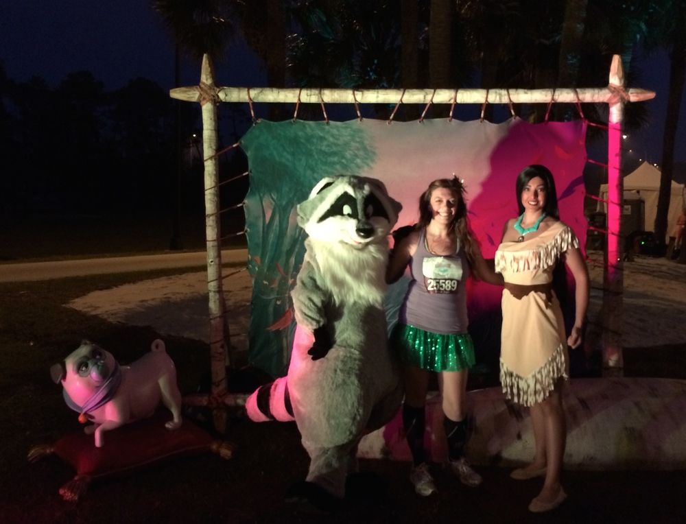 Meeko & Pocahontas (and Percy is in there, too)