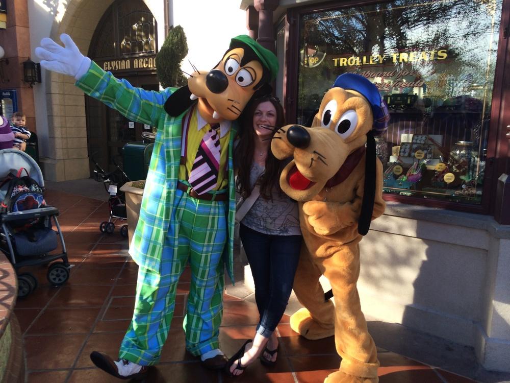 Goofy, me, Pluto