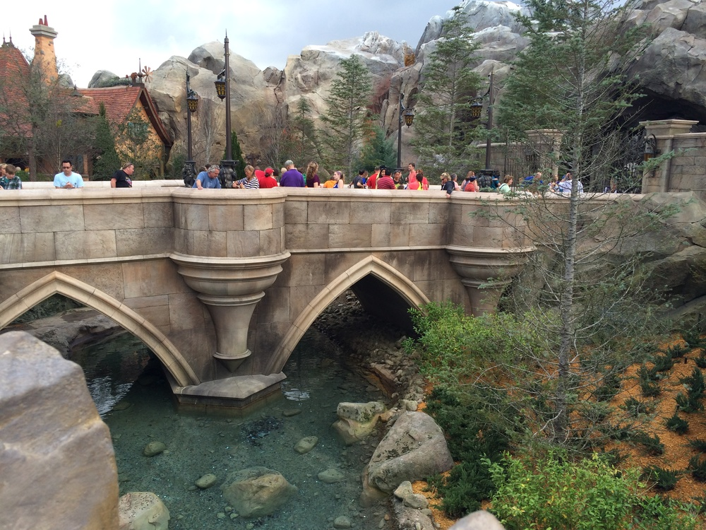 The bridge everyone waits on for Be Our Guest