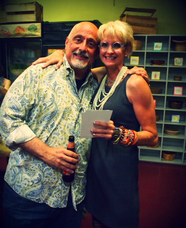 Victor Bokas and Dawn Schreiner - Homegrown Co-op, August 2014