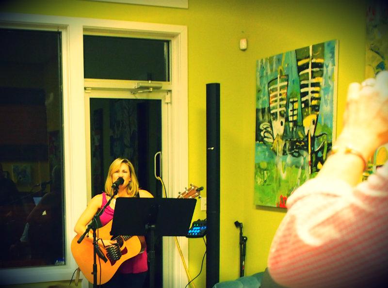 Sharon Center Lowe - Homegrown Co-op, August 2014