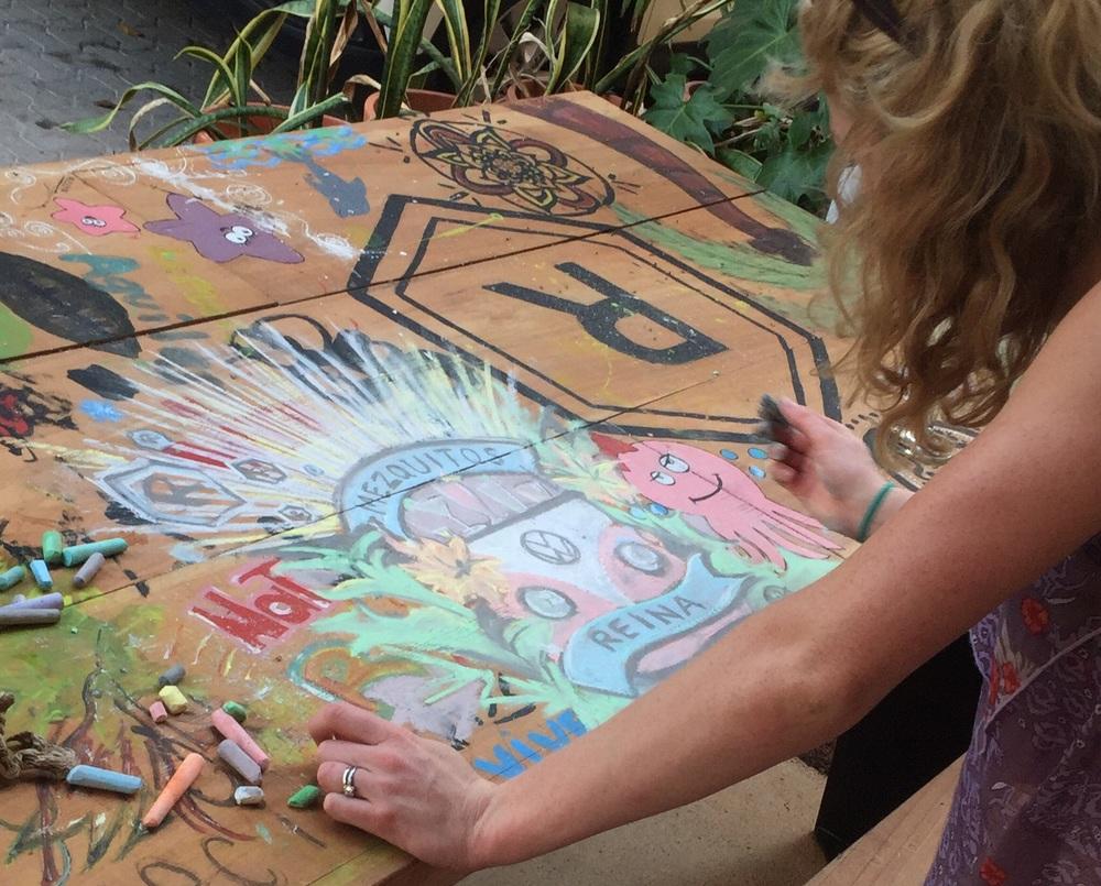 Artful Inkling spontaneous creativity