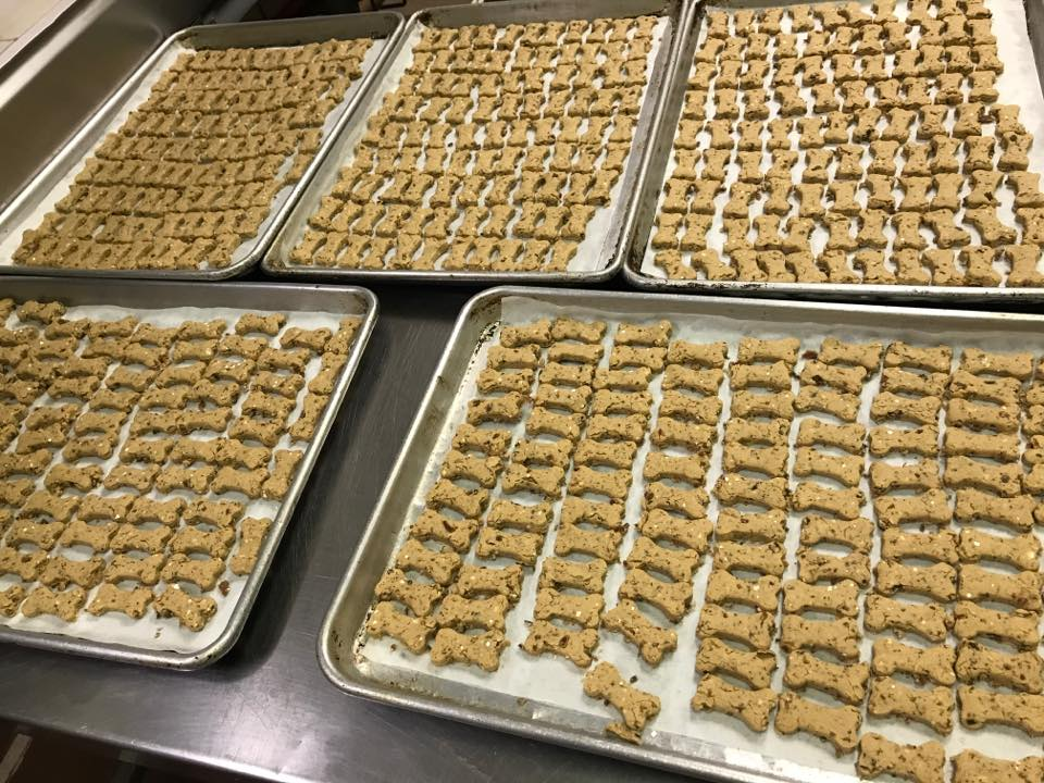 Doo-Doggy Treats are made with love in our Doo-Dah kitchen !